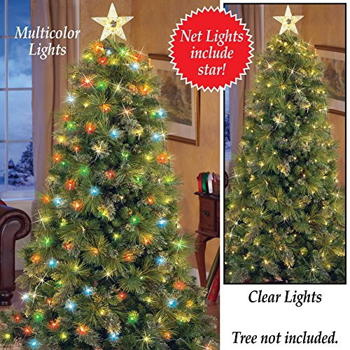 Top 5 Best Christmas Tree Net Lights For Sale 2016