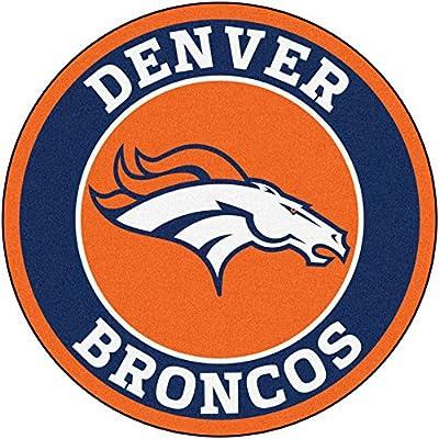 Fan Mats NFL Denver Broncos Roundel Mat