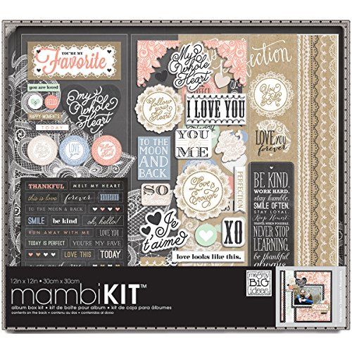 Lacey Charm Album Box Kit