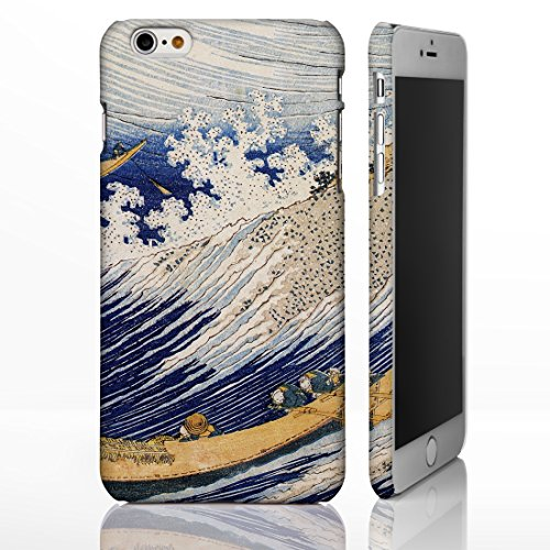 Hokusai Art Collection-Cover per iPhone, motivo: disegni, 8 cm., plastica, Ocean Waves - Portrait, iPhone 5c