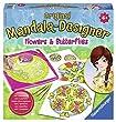 Ravensburger - 29809 - Peinture Au Num�ro - Flowers & Butterflies 2 En 1 Mandala