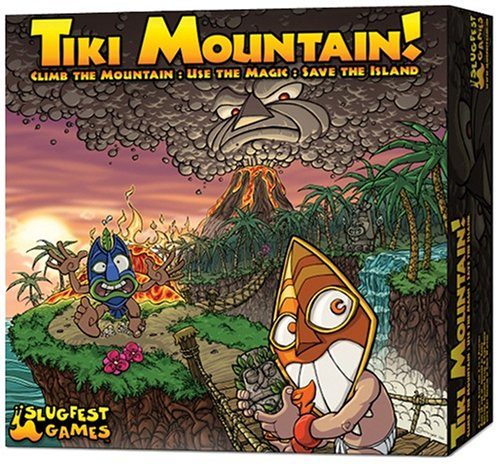 Tiki Mountain - Buy Tiki Mountain - Purchase Tiki Mountain (Slugfest Games, Toys & Games,Categories,Games,Board Games)