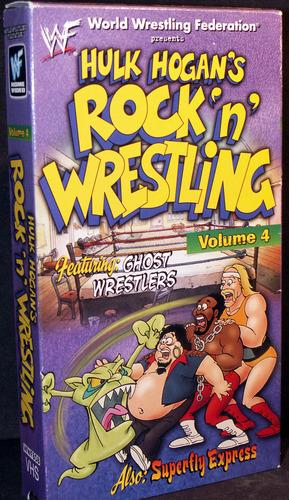 Amazon.com: WWF: Hulk Hogan's Rock 'n' Wrestling, Vol. 4 [VHS]: Hulk