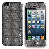 id America 阪神タイガース iPhone5 保護クッションシール バンパーSET THモノグラム グレイ id America Cushi Plus HAT-003