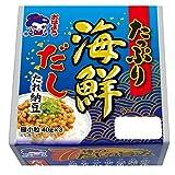 おはよう納豆 たっぷり海鮮だしたれ納豆極小粒ミニ3(40g×3) 12個入