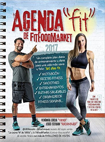 Agenda fitfoodmarket 2017 de @Vikikacosta y @Rachinguer (Estilo de vida)