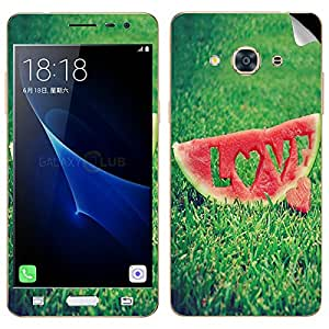Theskinmantra Love Melon Samsung Galaxy J3 Pro SKIN/DECAL (NOT A BACK COVER)