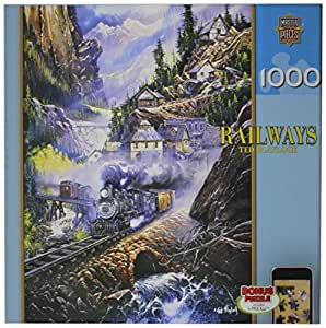 MasterPieces Puzzle Company Railways Silver Belle Run Jigsaw Puzzle , Art by Ted Blayloc