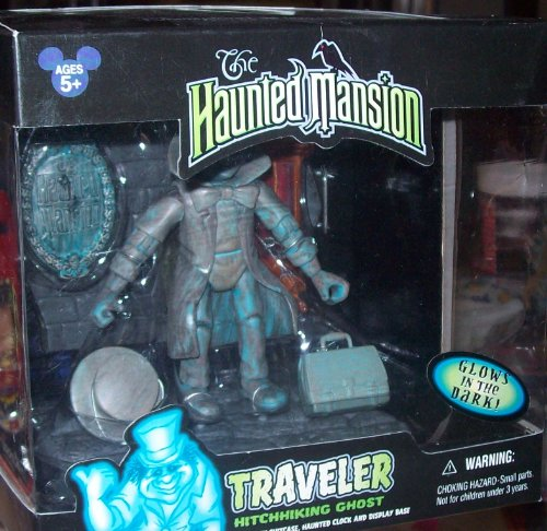Disney The Haunted Mansion TRAVELER Hitchhiking Ghost action figure