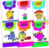 Roger Hargreaves Roger Hargreaves Little Miss 6 Books Collection Pack Set RRP: £17.94 (Tiny Just the Right Size, Trouble Moving House, Naughty Worries Mr. Worry, Splendid and the House with a View, Sunshine Keeps Her Smile, Helpful and the Green Ho
