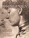 Drawings and Paintings: 150 Plates (0486497321) by Menzel, Adolph