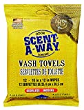 Scent-A-Way Odorless Wash Towels by Hunter's Specialties