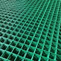 "Marko Fencing 6FT x 3FT Green PVC Coated Wire Mesh Panels Sheet 1"" Square Holes Fence Pet"
