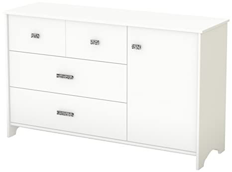 South Shore Tiara Collection Dresser, Pure White