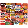 White Mountain Puzzles Candy Wrappers - 1000 Piece Jigsaw Puzzle