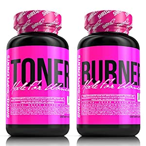 SHREDZ® Shape & Tone Stack for Women - Tone Fat, Lose Weight, Best Ingredients!