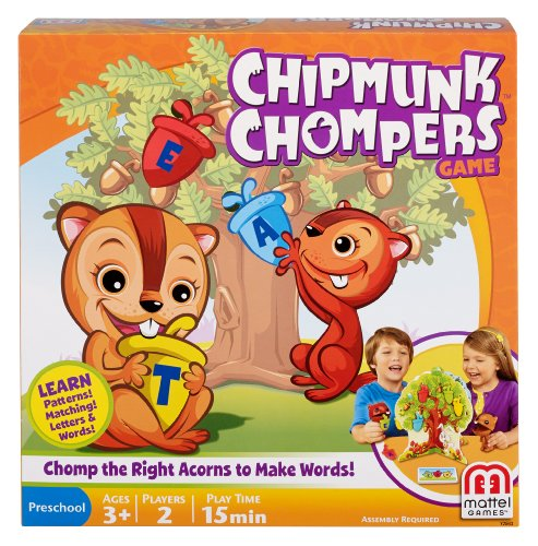 Chipmunk Chomper Board Game