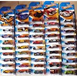 Four (4) Unique Random Hot Wheels Car Figures - In Their Factory Sealed Package