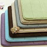 Home Bathroom NonSlip Durable Memory Foam Carpet Rug Pad Mat Slow Rebound Mat