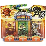 Skylanders: Giants - Triple Pack F: Eruptor, Stealth Elf, Terrafin