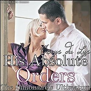 His Absolute Orders Audiobook