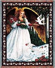 White Angel Throw - 70 x 53 BlanketThrow