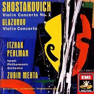 Shostakovich: Violin Concerto No. 1, Glazunov: Violin Concerto