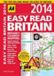 AA Easy Read Britain 2014 (Road Atlas)