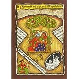 "Dolls Of India ""Radha Krishna Sitting Under Kadamba Tree"" Phad Painting On Cloth - Unframed (33.02 X 22.86 Centimeters..."