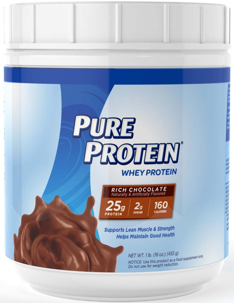 Pure Protein Frosty Chocolate 100% Whey Protein - Shop ...