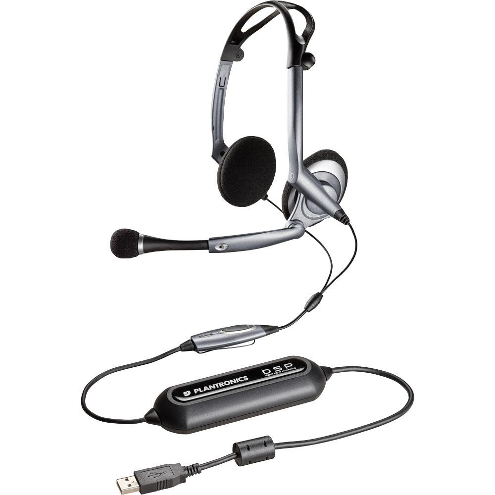 Foldable USB Multimedia Headset