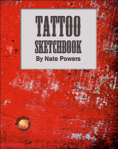 Tattoo Sketchbook by Nate Powers (Wolfgang Publications)