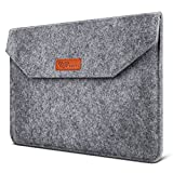 SAVFY 13.3 Inch MacBook Air/ Retina Macbook Pro/ 12.9 Inch iPad Pro Sleeve Case Cover Ultrabook Netbook Carrying Case Protector Bag - Gray