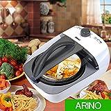 Airfryer Heißluftfritteuse ARINO Heißluft Fritteuse Multicooker KL-818B2 1100 Watt 3