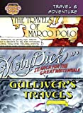 Travel & Adventure /The Travels of Marco Polo/ Moby Dick/ Gullivers Travels: The Travels of Marco Polo/Moby Dick/Gullivers Travels (Bank Street Graphic Novels)