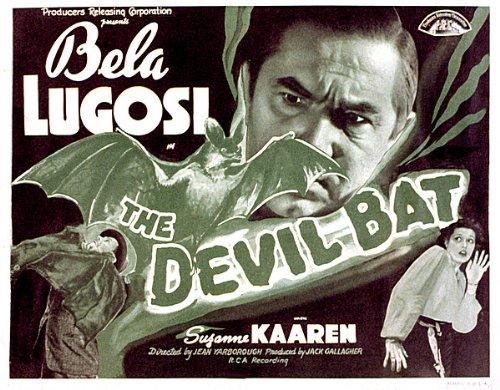 The Devil Bat Starring Béla Lugosi and Suzanne Kaaren