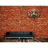 komar fototapete backstein 8 teilig baumarkt. Black Bedroom Furniture Sets. Home Design Ideas