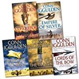 Conn Iggulden Conqueror Series 5 Books Collection Pack RRP: £50.95 (Conqueror, Bones of the Hills, Wolf of the Plains, Lords of the Bow...)(Conn Iggulden)
