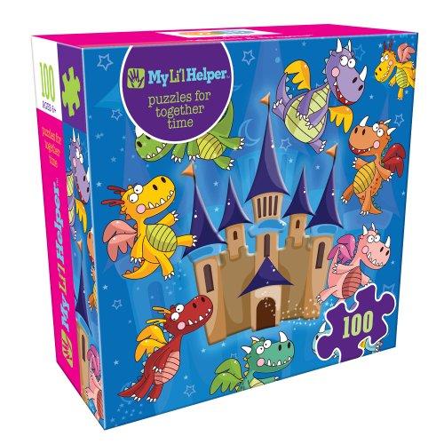 DB & Company Castles & Dragons Puzzle (100-Piece)