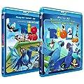Rio + Rio 2- Coffret 2 BluRay 3D Amazon [Blu-ray]