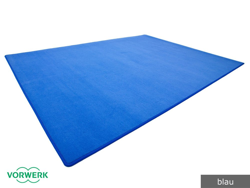 Vorwerk Bijou blau der HEVO Spielteppich nicht nur für Kinder 200x250 cm
