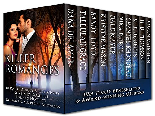 10-in-1 Boxed Set Alert! Killer Romances: 10 Dark, Deadly & Delicious Suspense Novels by today's hottest romantic suspense authors – Just 99 cents!  **Plus, today's Kindle Daily Deals
