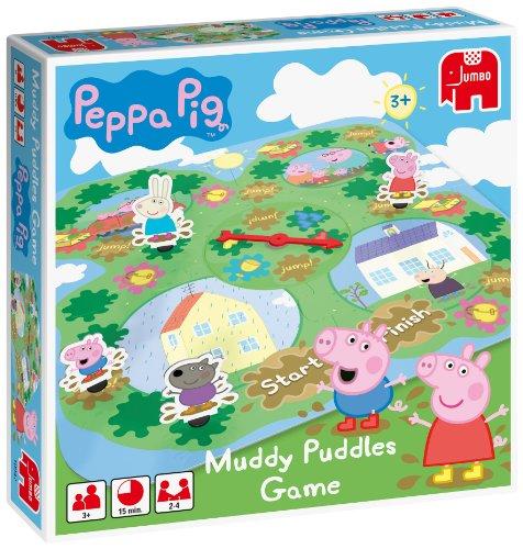 Imagen principal de Disney Muddy Puddles - Juego de mesa sobre Peppa Pig y los charcos de barro