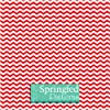 CHEVRON PATTERN Red & White Craft Vinyl 3 Sheets 12x12 for Vinyl Cutters