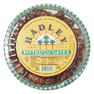 Hadley Pitted Dates (Deglet Noor), 3 lb (1360 g)