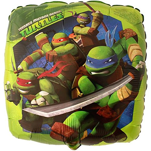 "Teenage Mutant Ninja Turtles 17"" Retail Pack Balloon ( 5 Pack)"