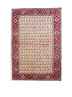 QURAMA Alfombra Persian Saruk Beige/Multicolor 215 x 140 cm