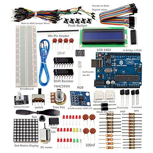 SunFounder-Project-Super-Starter-Kit-with-Tutorial-Book-for-Arduino-UNO-R3-Mega2560-Mega328-Nano