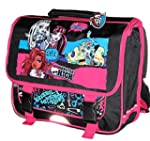 MONSTER HIGH CARTABLE A DOS NOIR/ROSE...