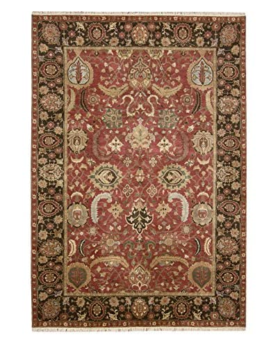 One Of A Kind Oriental Rug, Red, 6' x 9'